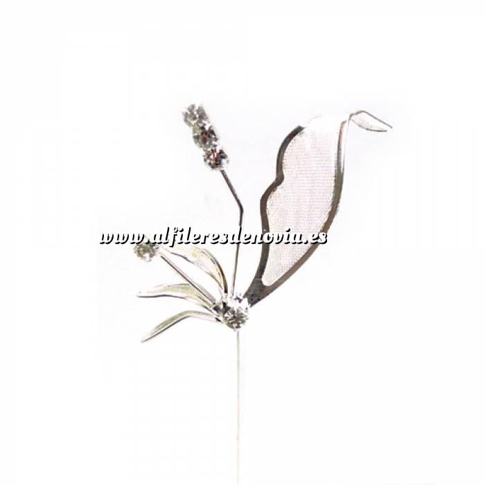 Imagen Alfileres especiales Alfiler Especial 54 (alfiler libélula BLANCO) (Últimas Unidades)