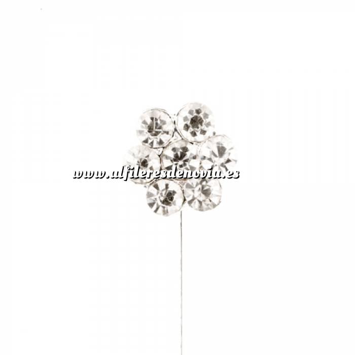 Imagen Alfileres OUTLET Alfiler Especial 34 (margarita cristal plana) (Últimas Unidades)