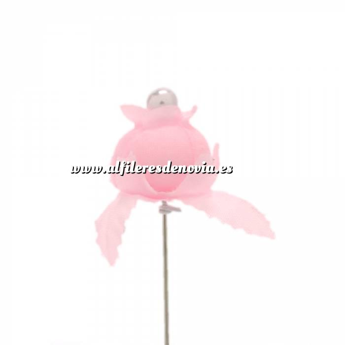 Imagen Alfileres clásicos Alfiler clásico 12 (capullo todo rosa)