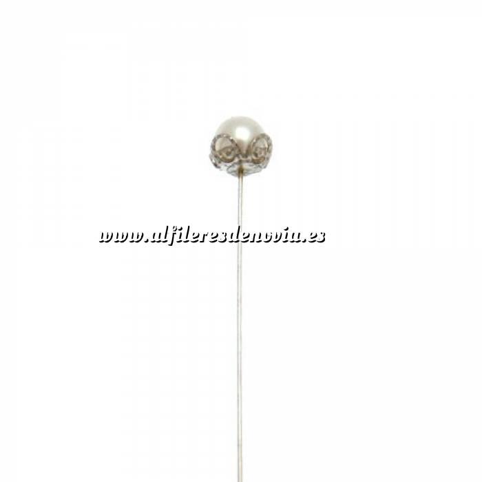 Imagen Alfileres especiales Alfiler especial 07 B (corona plata vieja) (Últimas Unidades)