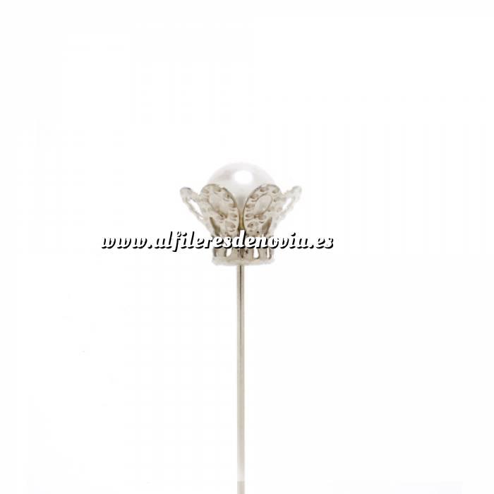 Imagen Alfileres especiales Alfiler especial 09 (Canasta grande plata nueva)