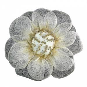 Complementos Alfileres - Bouquet margarita para alfileres Beige (A)